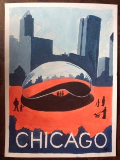 Chicago Watercolor